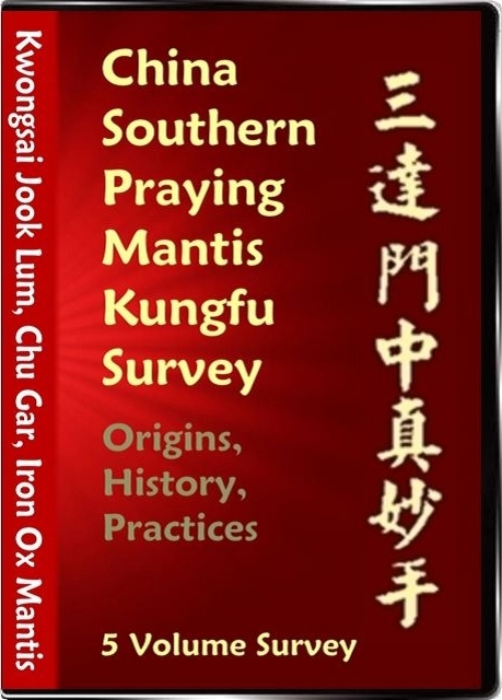 China Survey - Origins, History, Practices of Southern Mantis