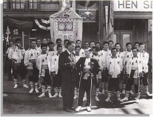 1958 Lam Sang's Hip Sing Students in Seattle!